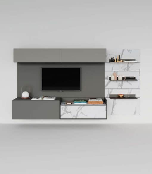 Skyline-3-Relation-above-and-below- variante B Dimensioni: L 280 H 170 P 46